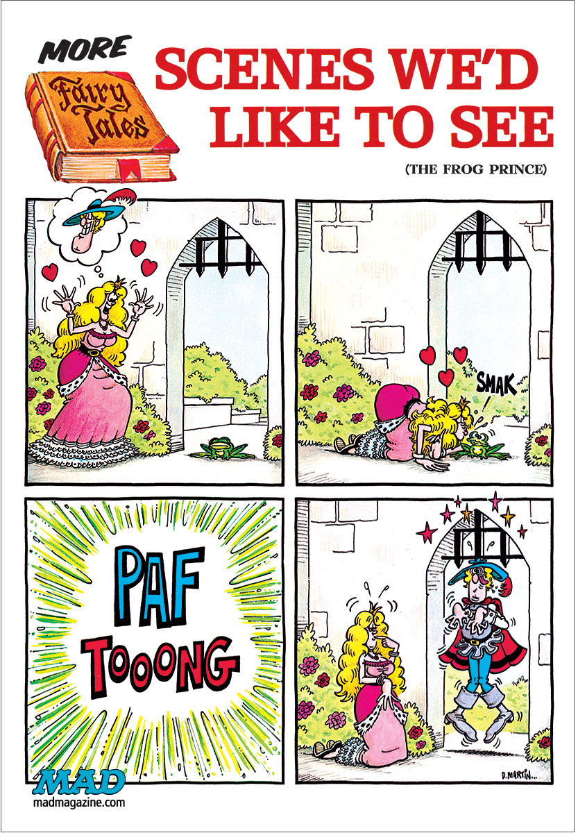 MAD Magazine, Fonebone Friday, Don Martin, More Fairy Tales We'd Like to See, MAD #185