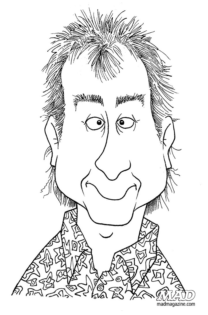 mad magazine john caldwell self-portrait caricature
