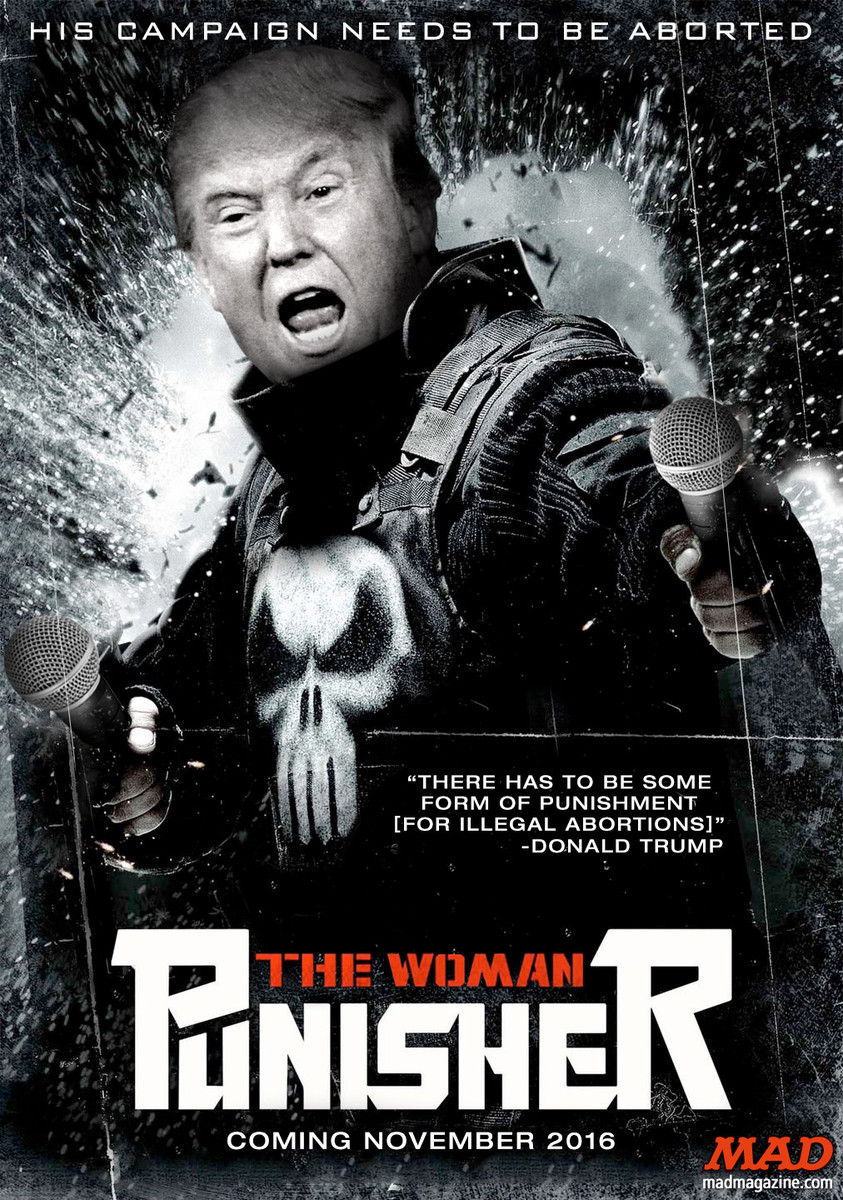 "The Woman Punisher"": Donald Trump's New Movie 