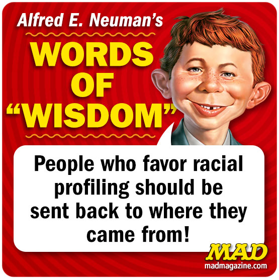 MAD Magazine, Alfred E. Neuman, Alfred E. Neuman's Words of Wisdom