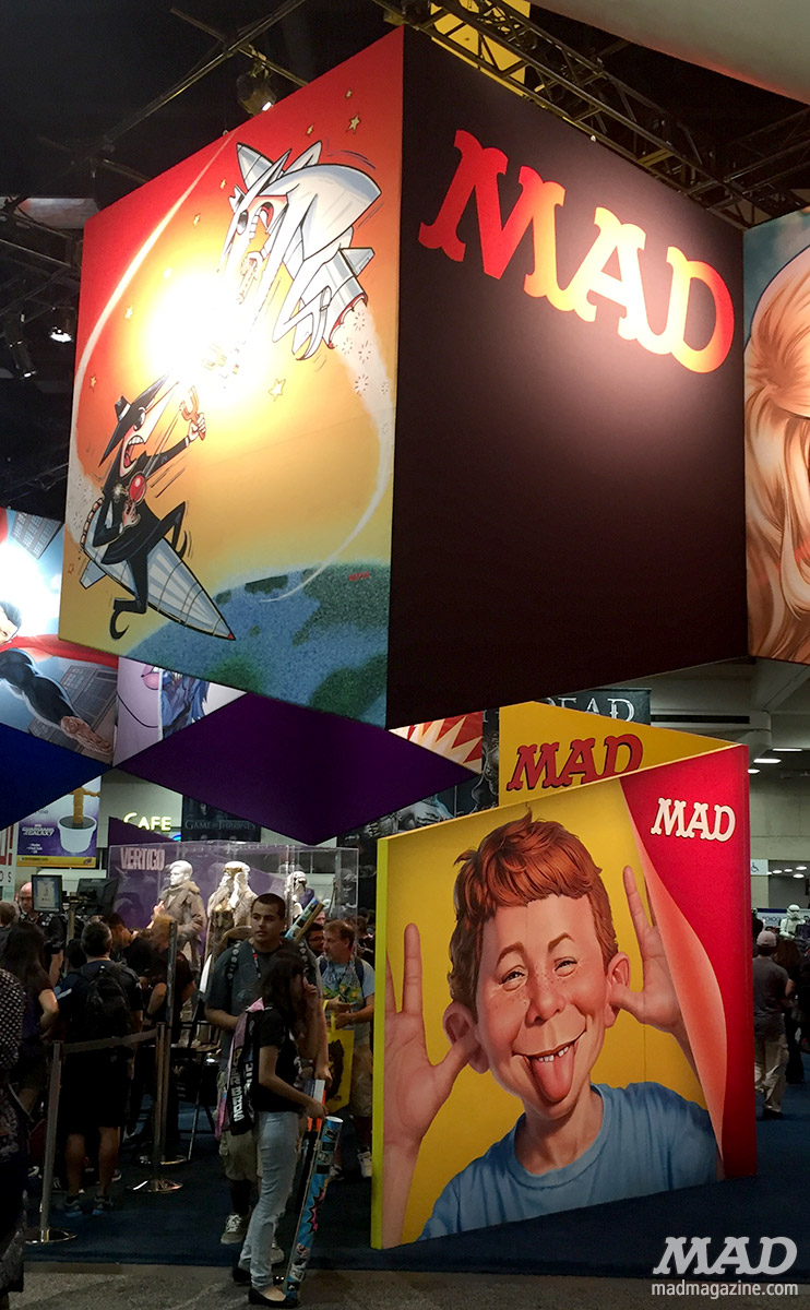 mad magazine mad about mad san diego comic-con 2016