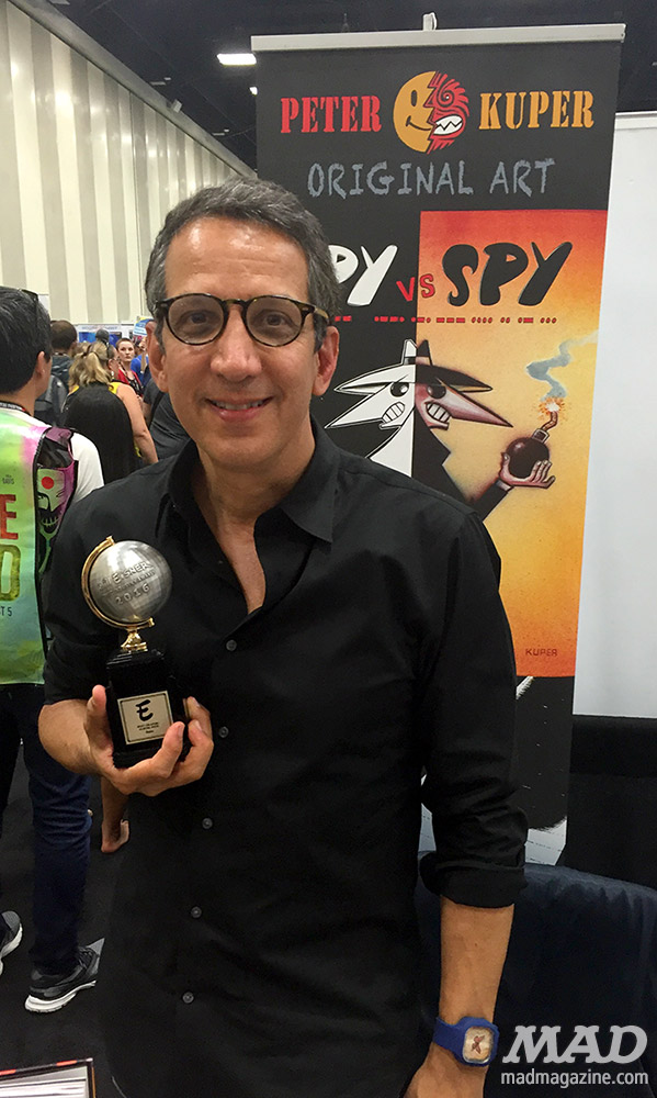 mad magazine mad about mad san diego comic-con 2016 peter kuper eisner award spy vs spy ruins
