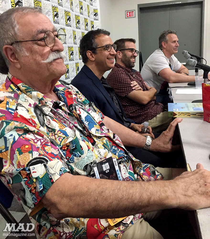 mad magazine mad about mad san diego comic-con 2016 sergio aragones peter kuper kenny keil tom richmond