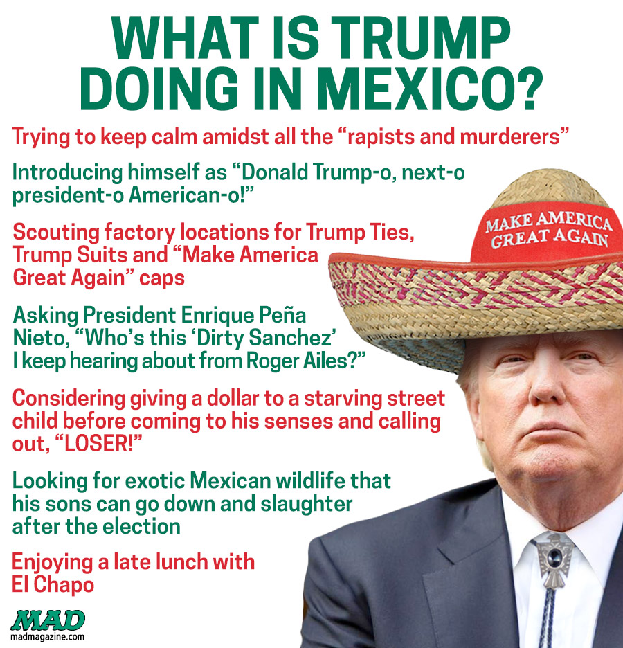 What Is Trump Doing In Mexico?