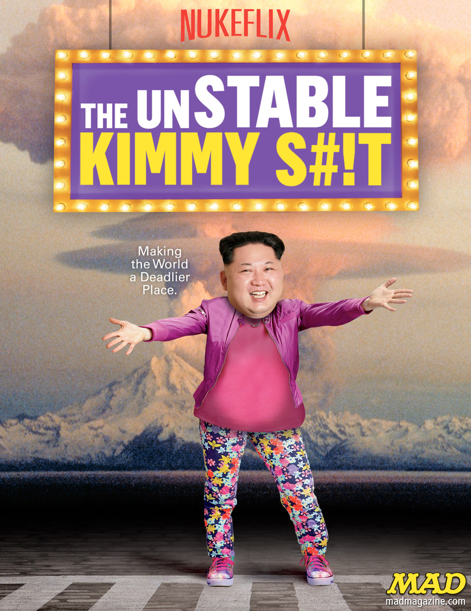 MAD Magazine, Idiotical Originals, Kim Jong-un, The Unbreakable Kimmy Schmidt