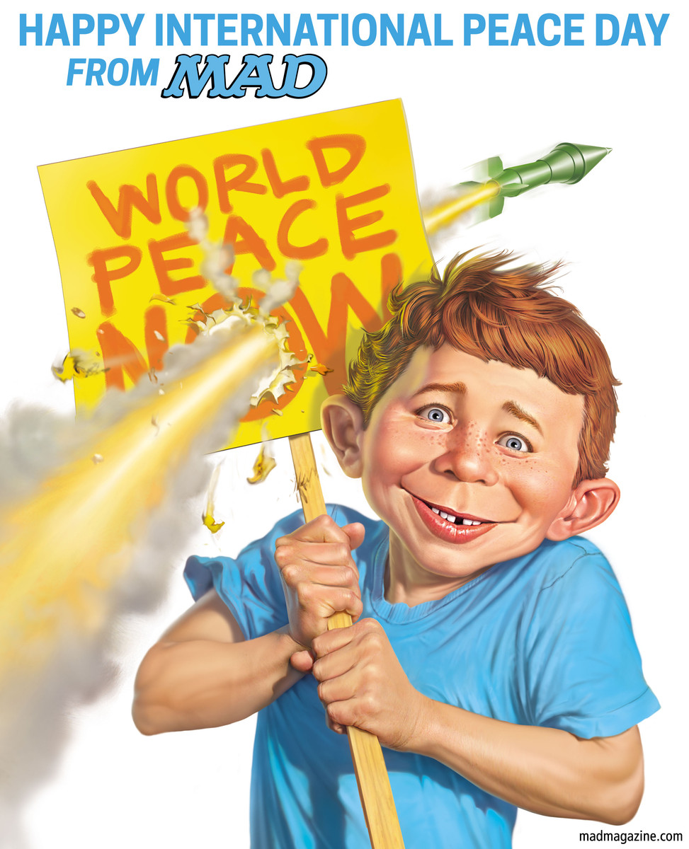 MAD Magazine, Classic MAD, International Peace Day, Mark Fredrickson