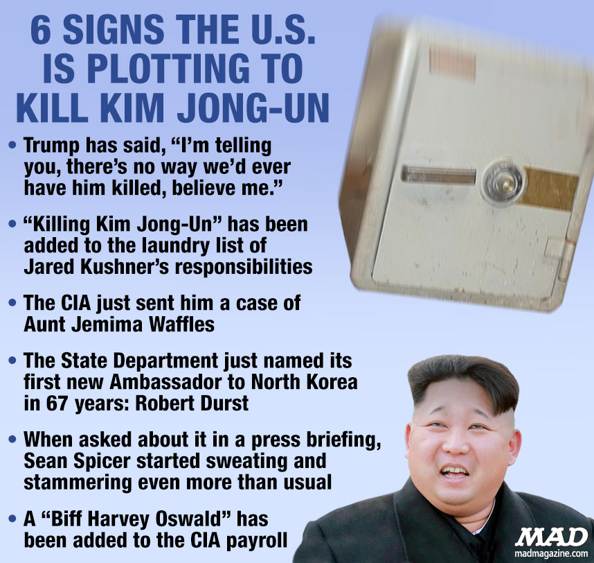 MAD Magazine, Idiotical Originals, Kim Jong-Un