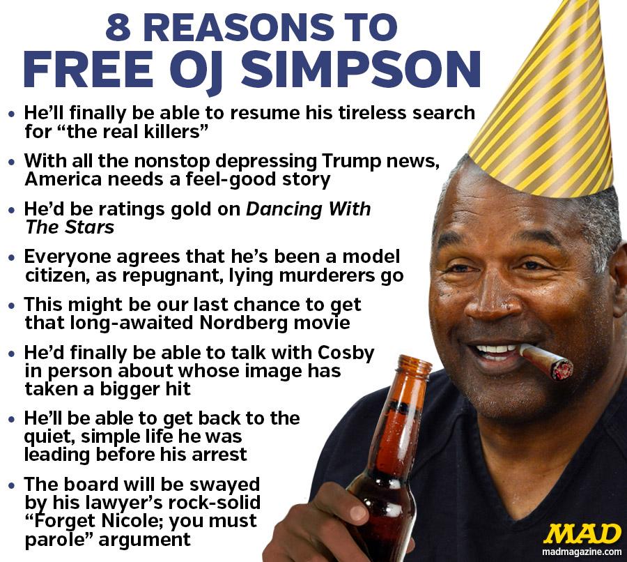 Oj Simpson Frei