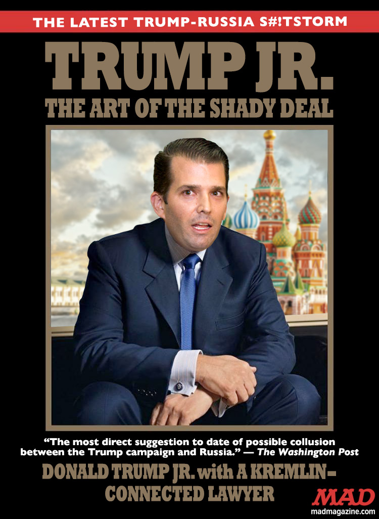 MAD Magazine, Idiotical Originals, Donald Trump Jr.