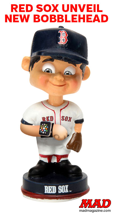 MAD Magazine, Idiotical Originals, Boston Red Sox
