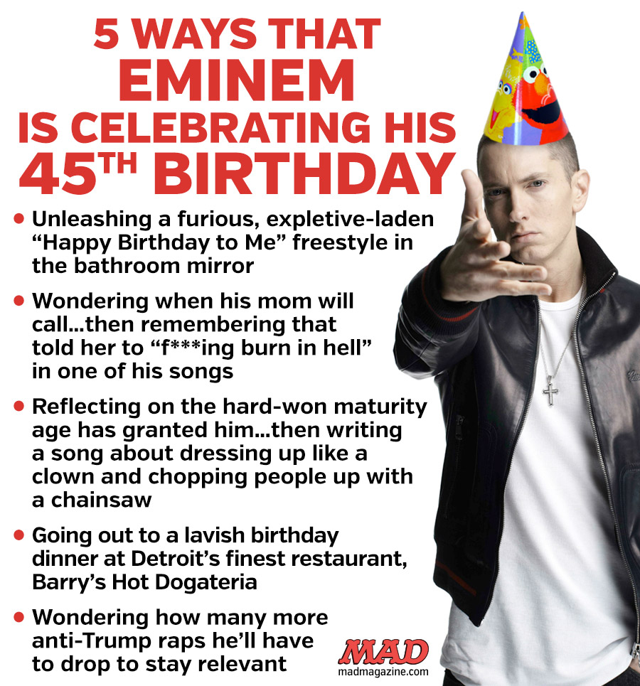 MAD Magazine, Idiotical Originals, Eminem