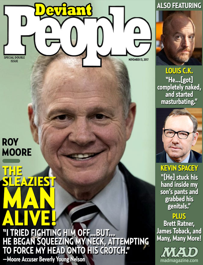 MAD Magazine, Idiotical Originals, Roy Moore