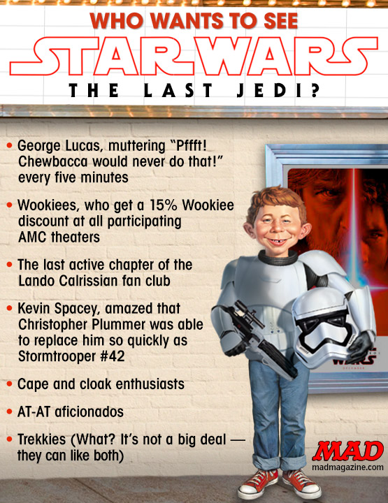 MAD Magazine, Idiotical Originals, Star Wars: The Last Jedi