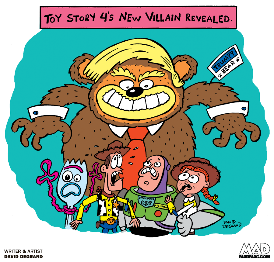 A Toy Story 4 Sneak Preview Mad Magazine