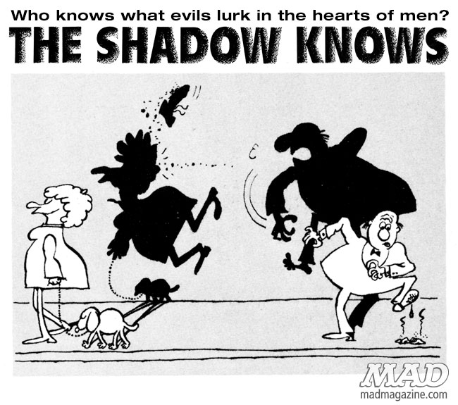 The Shadow Knows, Sergio Aragones, Revenge
