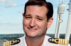 MAD Magazine Ted Cruz Launches Presidential Bid Idiotical Originals, Politics, Presidency, Cruise, 2016, Ted Cruz-Lines, Republican, Snail Hoagie Fail