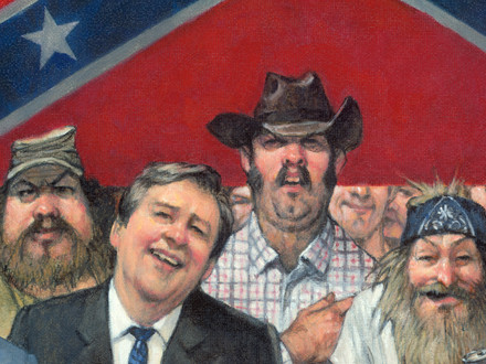 MAD magazine, confederate flag, white supremacists, nazis, racists, pledge of allegiance