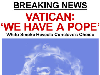 """MAD EXCLUSIVE: """"WE HAVE A POPE"""""""
