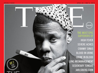 """Time Magazine's """"100 Most Influenzal People"""" Cover"""